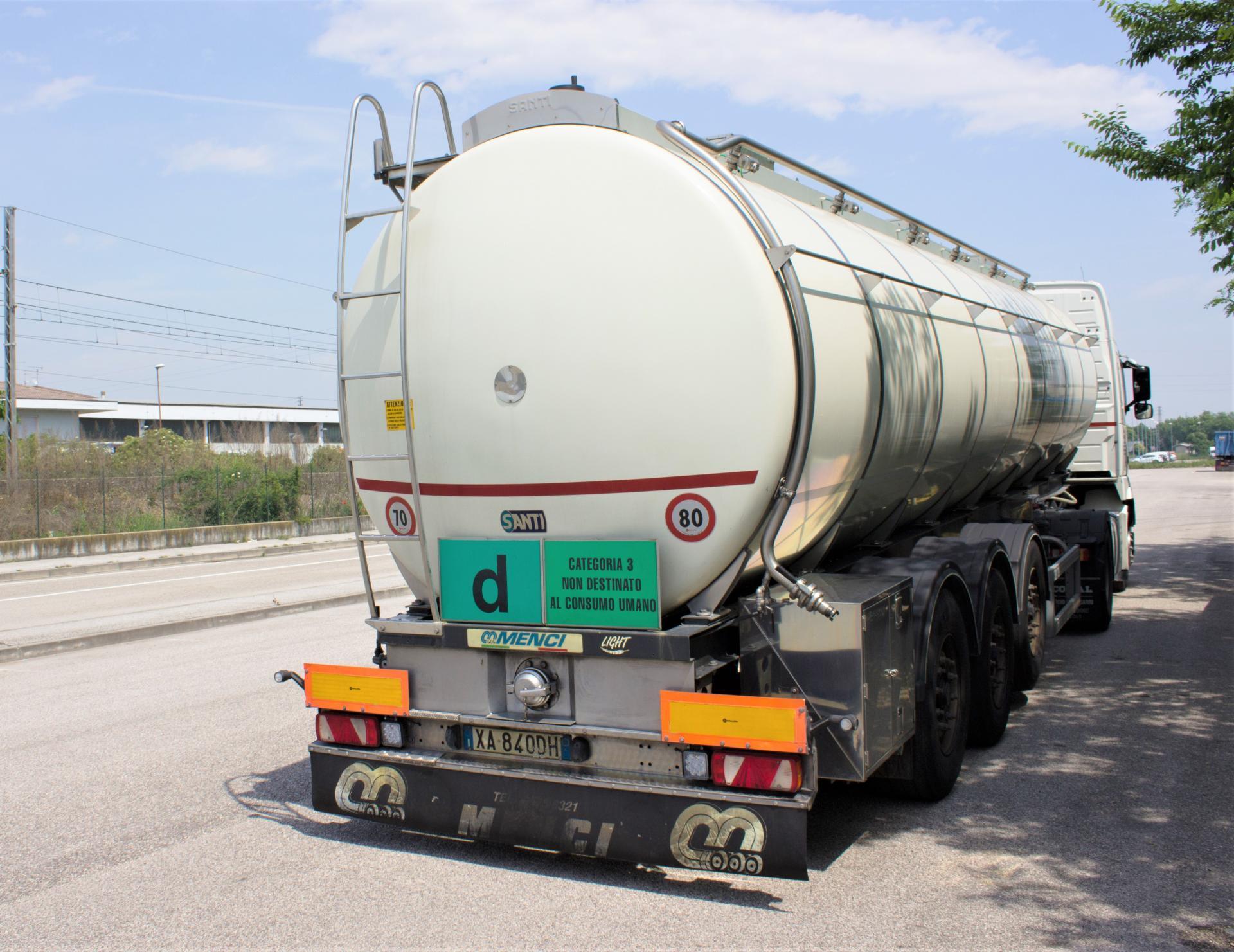 trasporto sottoprodotti di origine animale