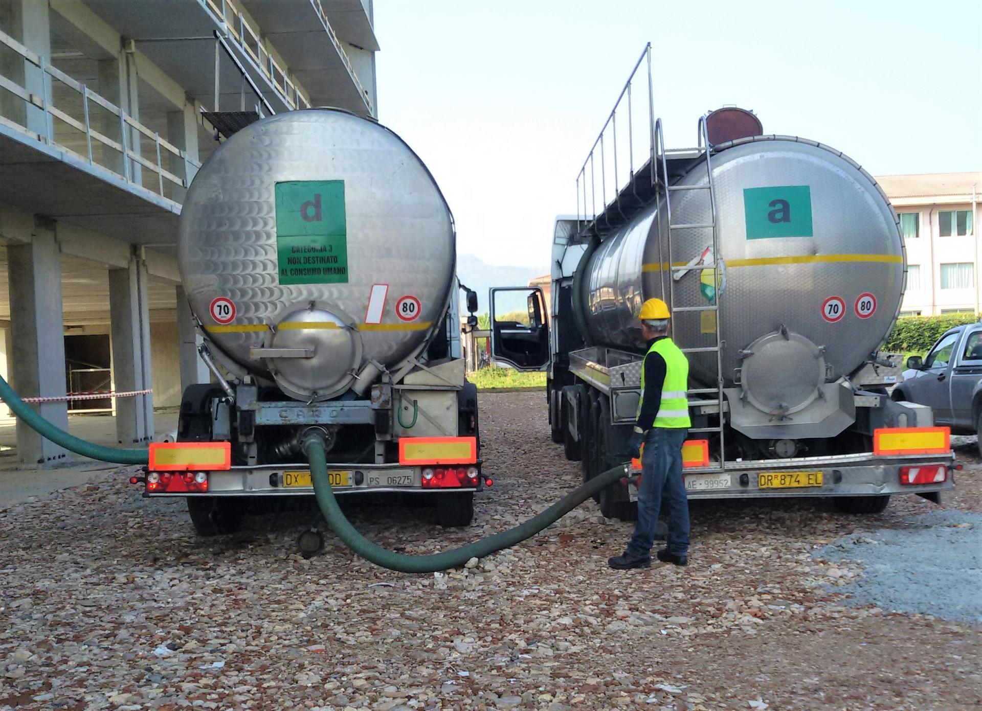 Trasporto rifiuti liquidi